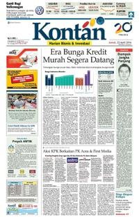 Kontan Daily 22 April 2016