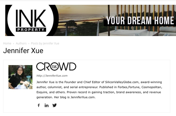 Jennifer Xue Column on CrowdInk